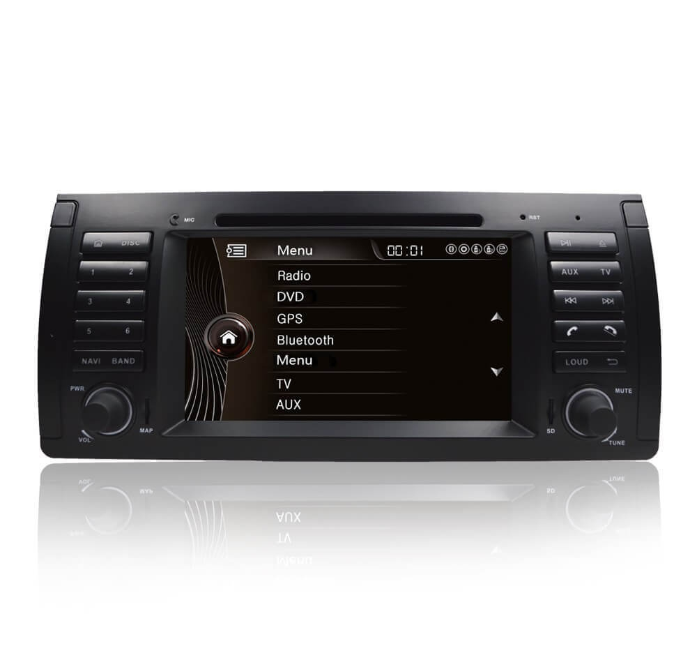 Autoradio GPS Android BMW X5 E53