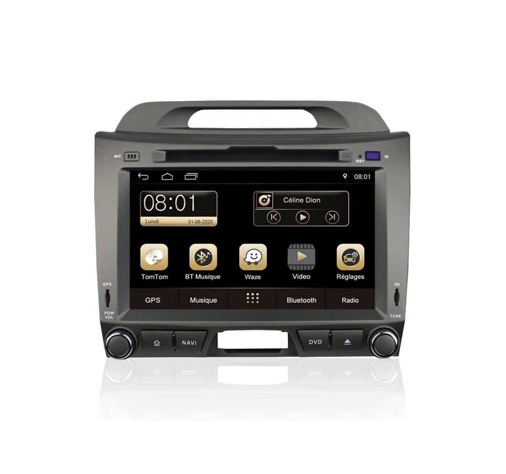 Autoradio GPS Android Kia Sportage