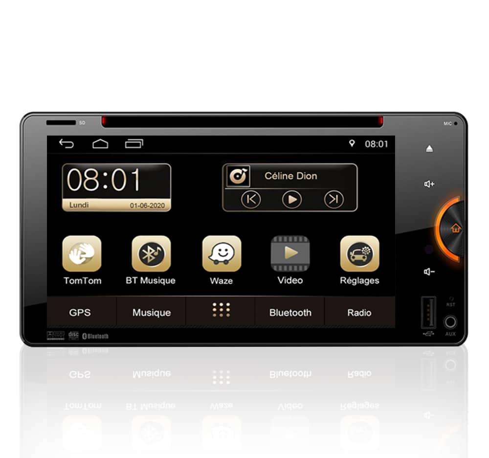 Autoradio GPS Android Toyota Land Cruiser