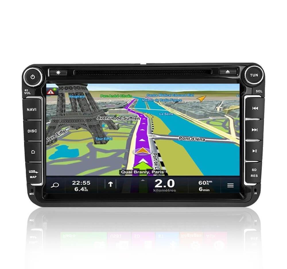 Autoradio GPS Android Volkswagen Golf 5
