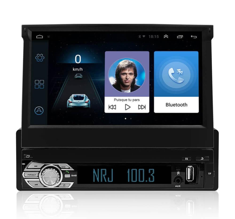 Poste Autoradio GPS 1 DIN Android
